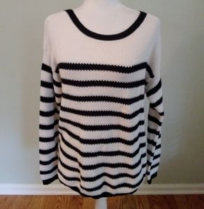 LOFT Striped sweater top